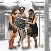 Caveman In Data Center